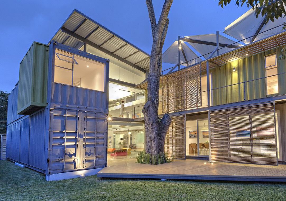 planos y construcción de casa contenedor | construye hogar