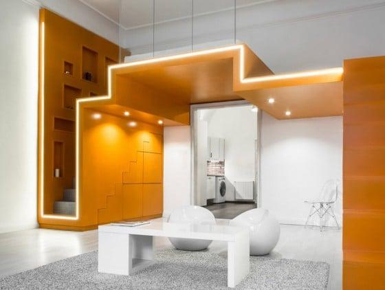 Diseño de pequeño departamento