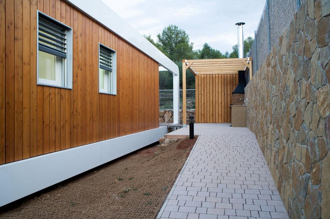Dise o de casa ecol gica y tecnol gica 3 0 construye hogar - Casa container espana ...