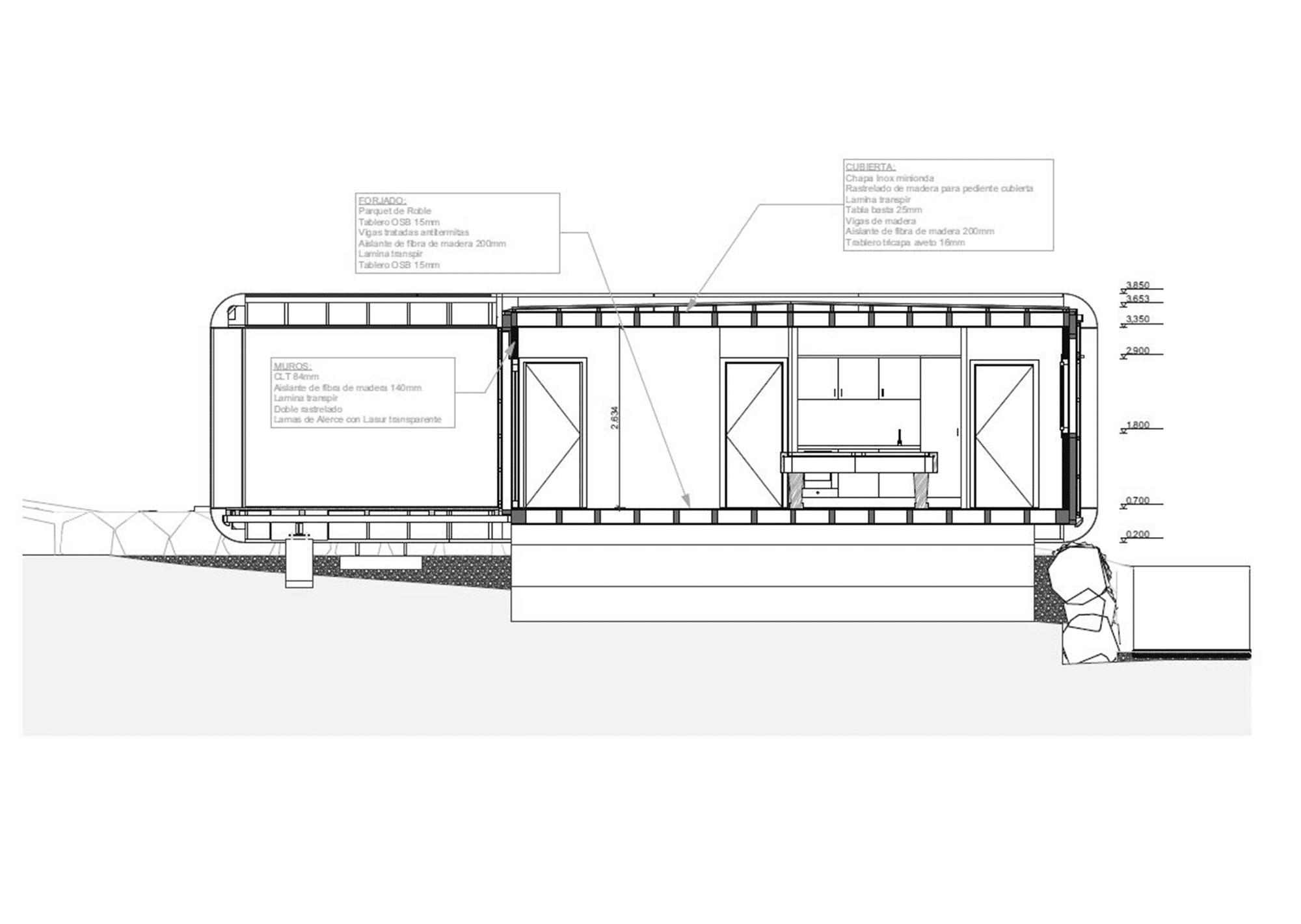 Dise o de casa ecol gica y tecnol gica 3 0 construye hogar - Casa de materiales de construccion ...