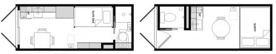 Planos de casa hecha de contenedor 001