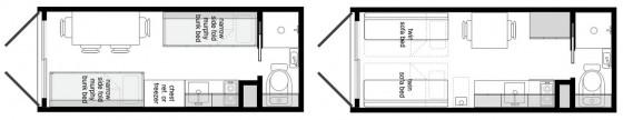 Planos de casa hecha de contenedor 002