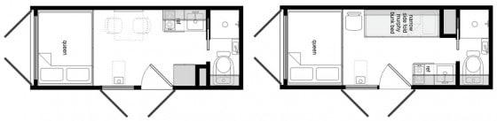 Planos de casa hecha de contenedor 004