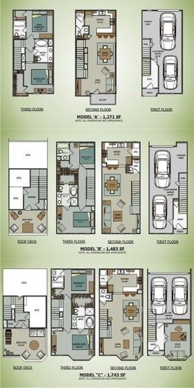 Planos de casas de varios pisos construidas con contenedores