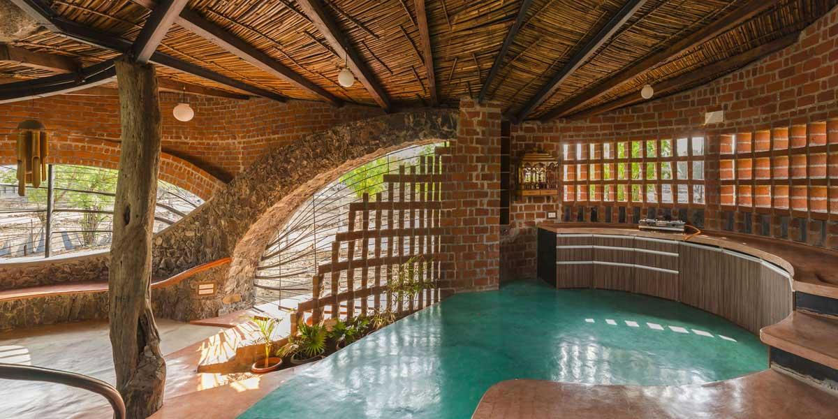 Dise o de casa org nica r stica con planos construye hogar - Diseno casa rustica ...
