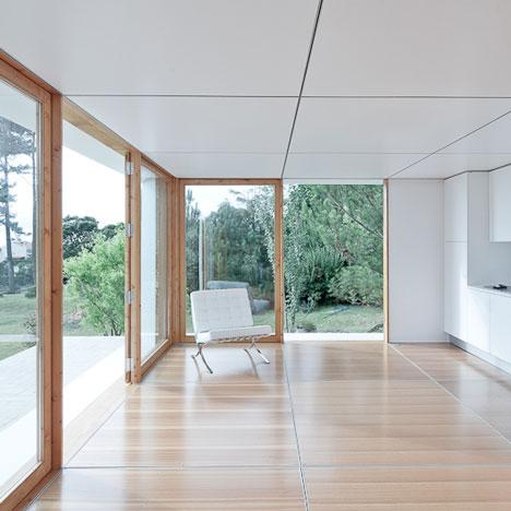 Dise o de casas peque as planos for Interior de apartamentos