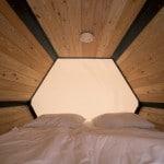 Espacios para dormir de campamentos