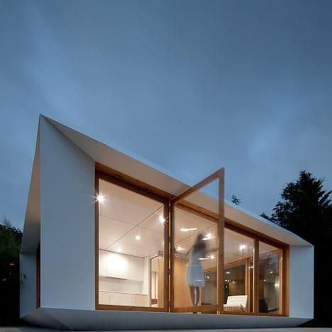 Dise o de casas peque as planos for Construcciones modernas