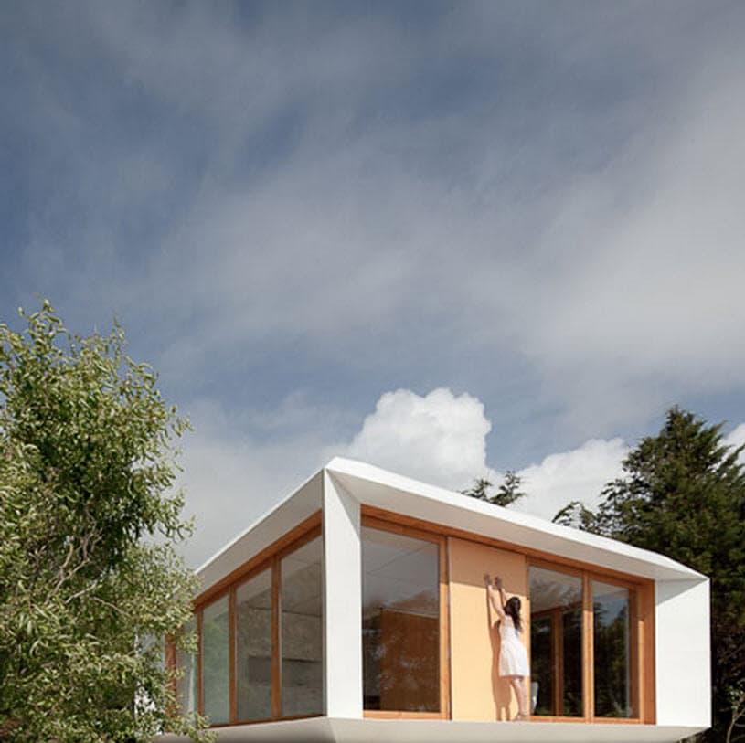 Dise o de casas peque as planos construye hogar - Habitaciones de madera prefabricadas ...