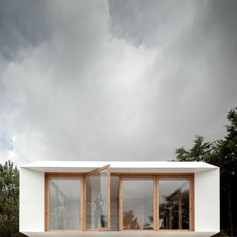 Diseño de pequeña y moderna casa
