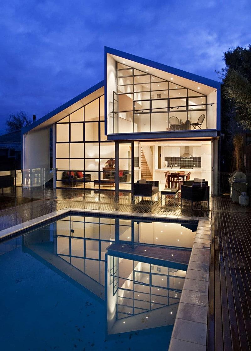 Planos de casa de dos pisos h brida construye hogar for Planos de casas fachadas modernas y disenos de viviendas