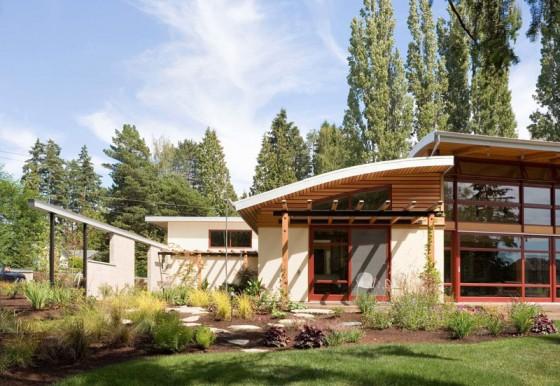 Detalles constructivos de casa de campo moderno