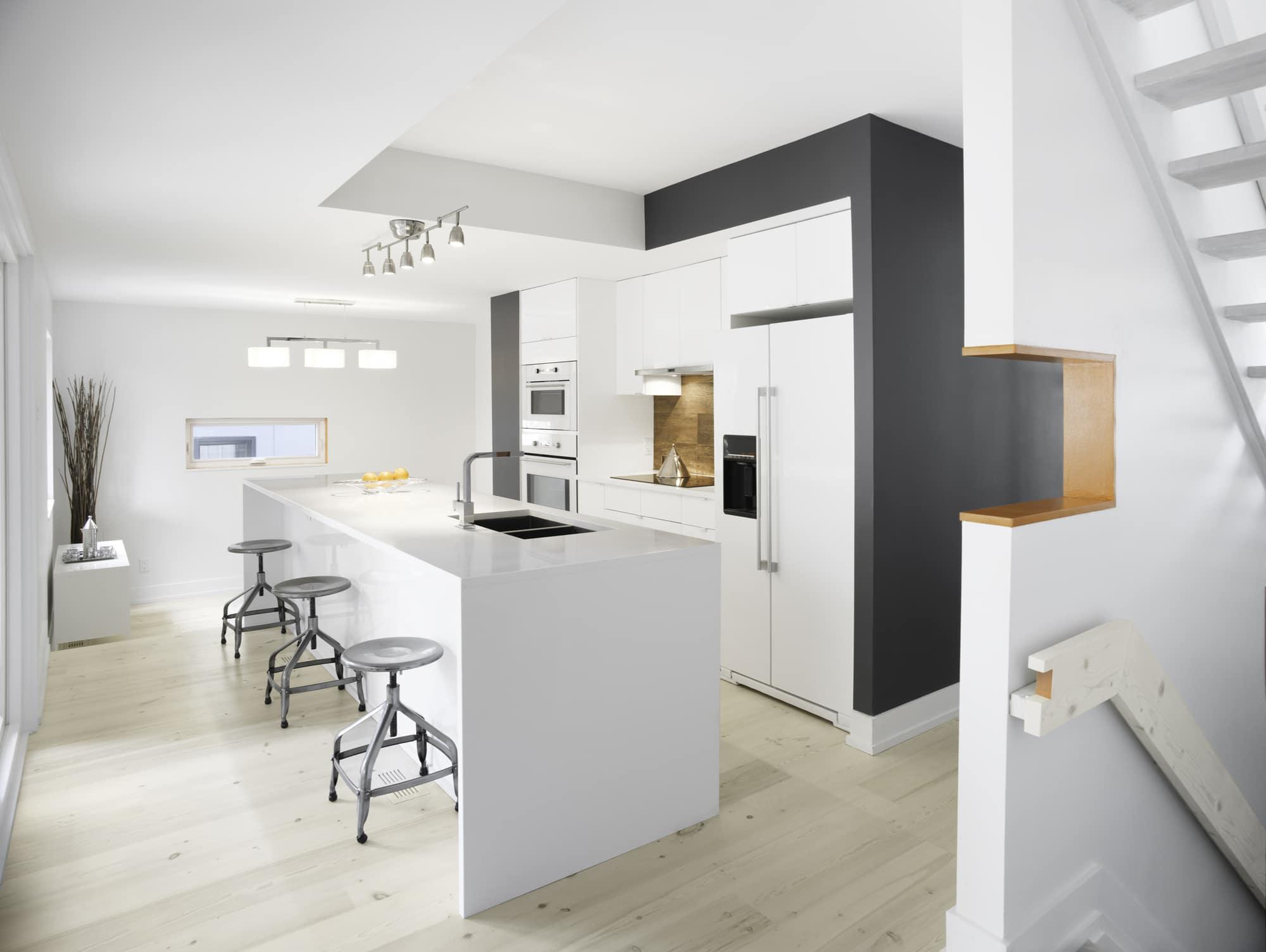 Planos de casa de dos pisos moderna construye hogar - Diseno interiores cocinas ...