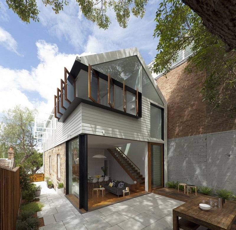 Planos de casa de dos pisos peque a construye hogar for Features of old houses