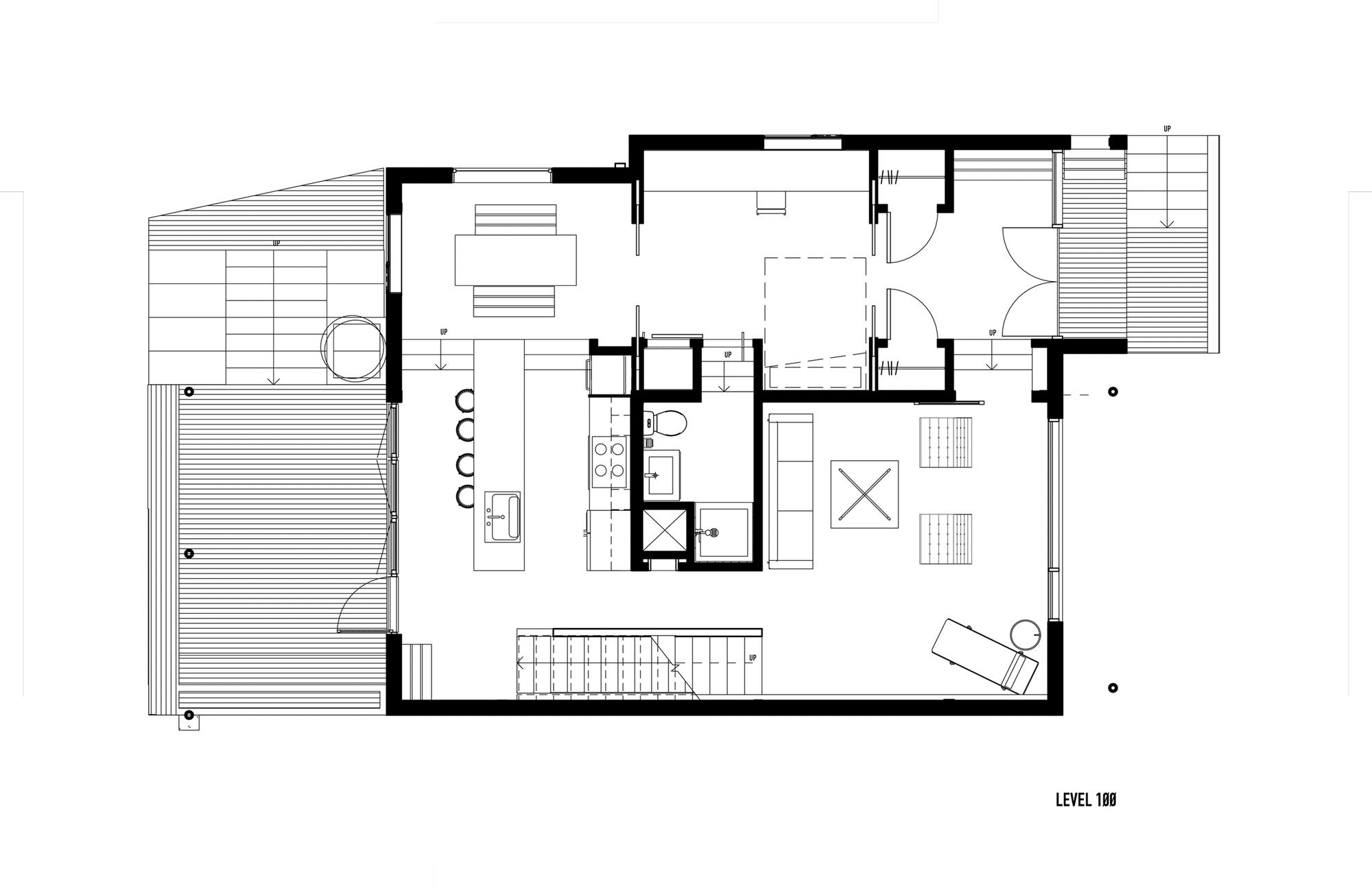 Planos de casa de dos pisos moderna construye hogar for Planos de construccion