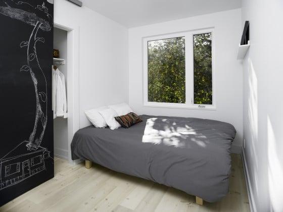 Sencillo diseño de dormitorio
