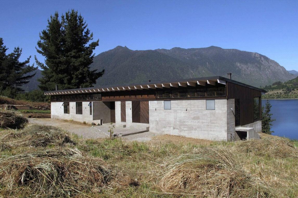 Planos de casa de campo de un piso for Casas de cemento