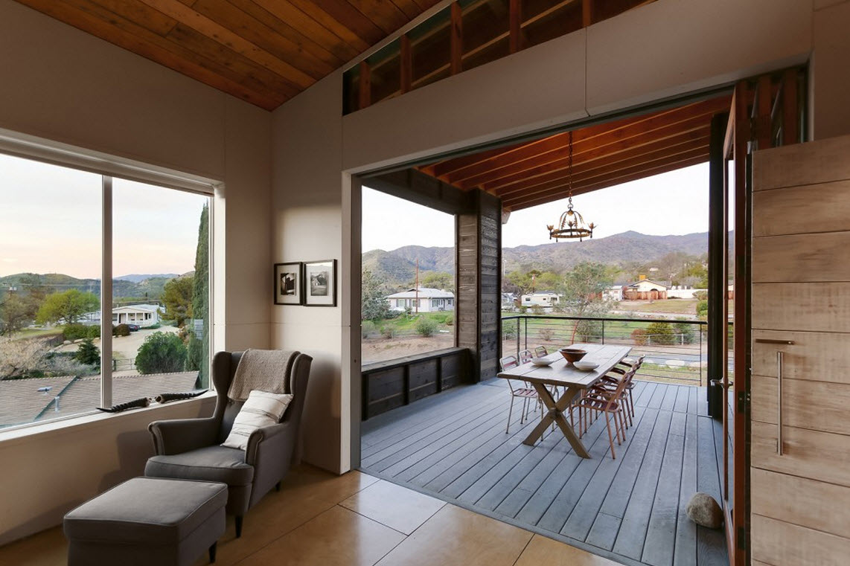 Planos de caba a moderna de dos pisos construye hogar for Planos terrazas exteriores