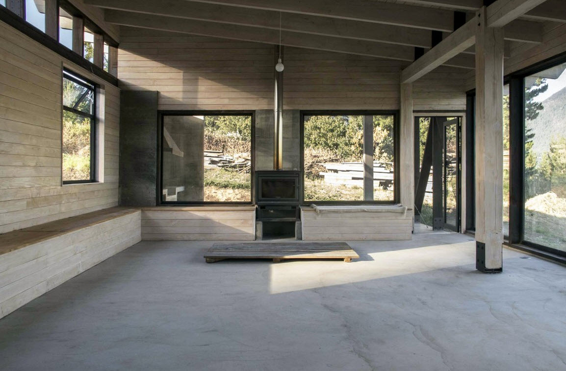 Planos de casa de campo de un piso construye hogar for Planos de interiores