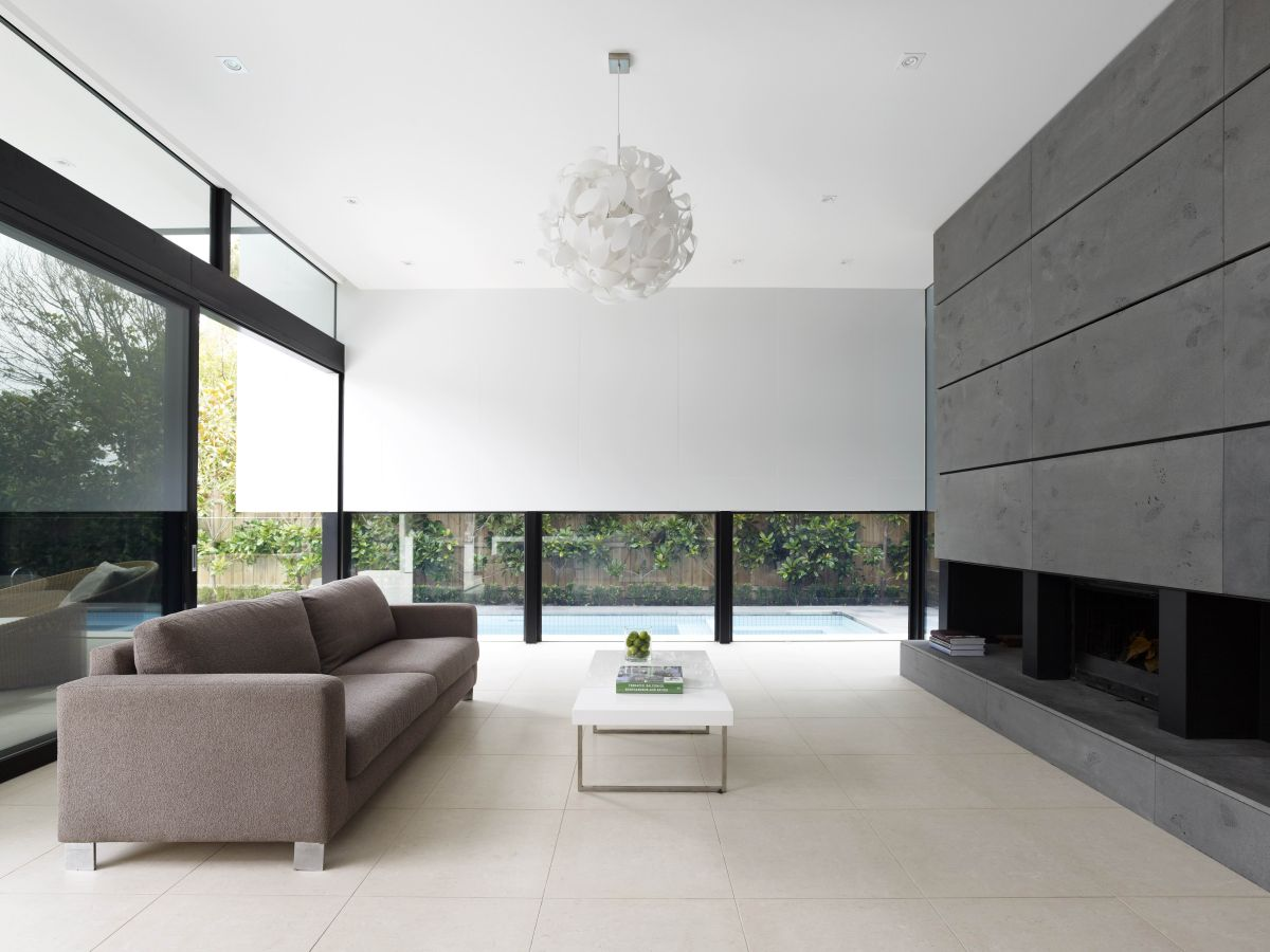 Dise o casa dos plantas moderna planos for Diseno de planos