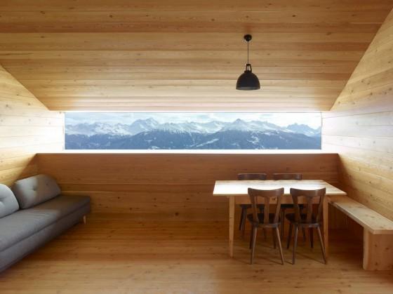Madera en interiores para casas rurales