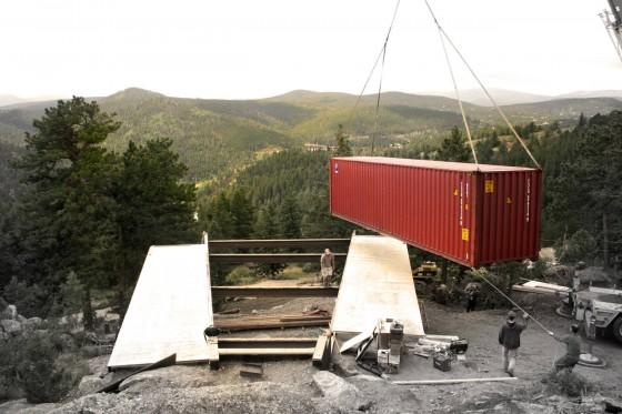 Construcción de casas con contenedores