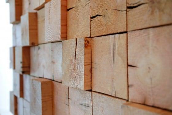 Detalles de texturas de maderas para decoración de interiores