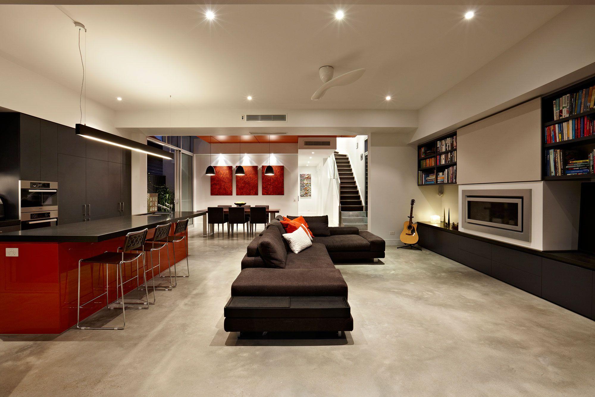Diseño de casa moderna de dos plantas Planos | Construye ... on Interiores De Casas Modernas  id=46238