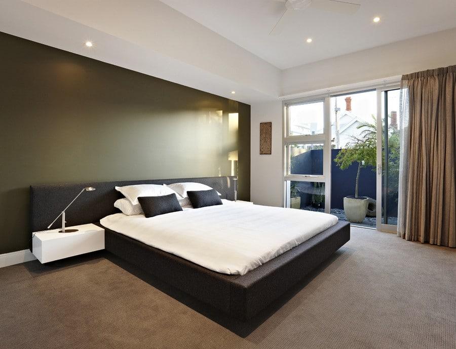 Dise o de casa moderna de dos plantas planos for Diseno de interiores recamaras pequenas