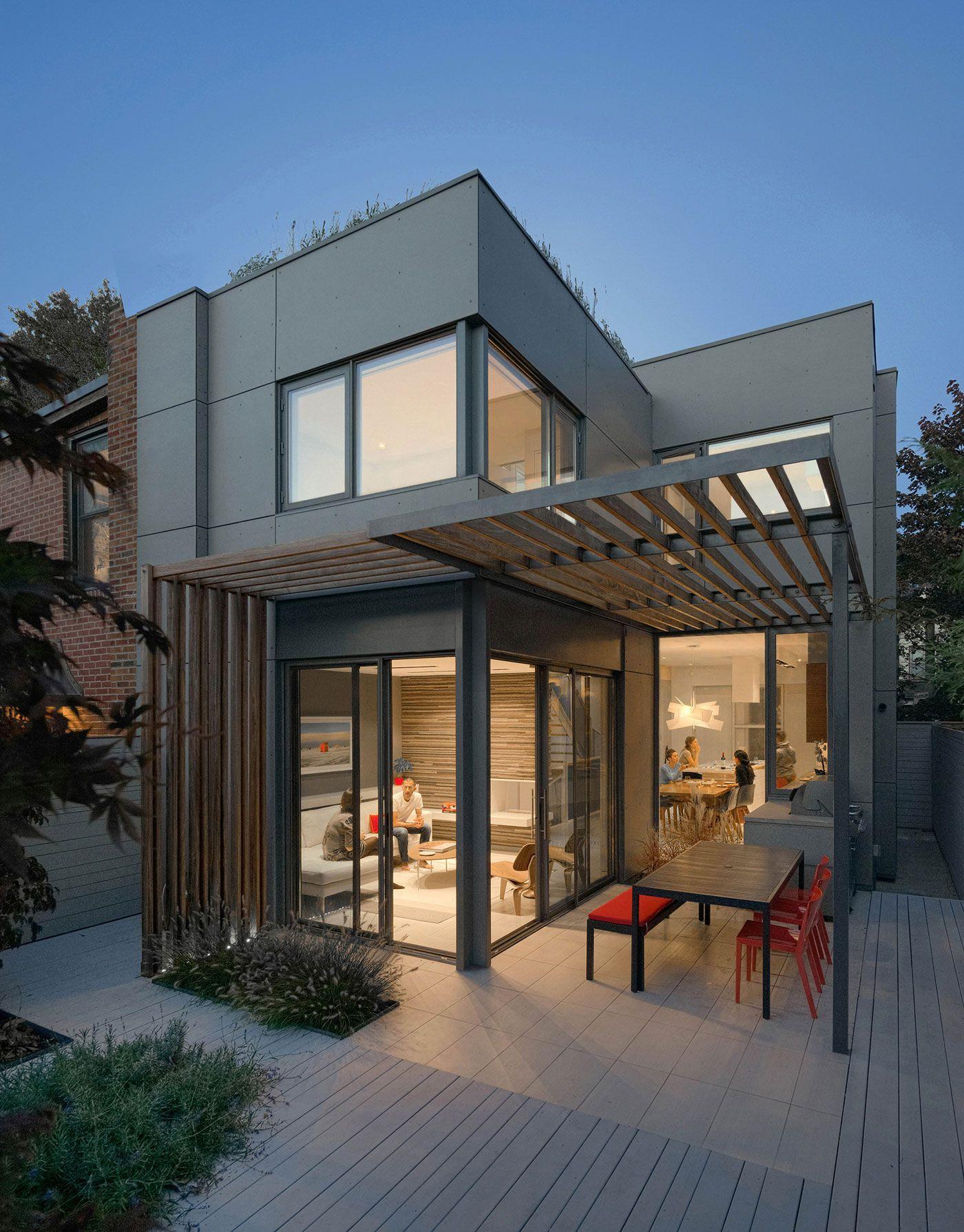 Planos de casa de dos pisos sencilla construye hogar for Imagenes de techos de casas modernas