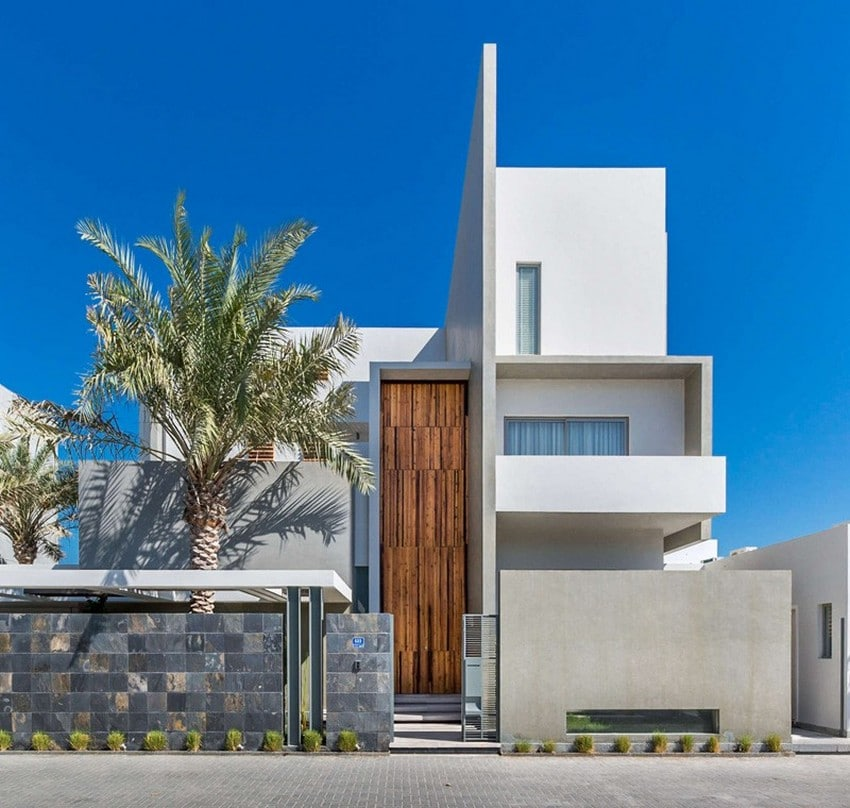 Planos de casa de tres pisos moderna construye hogar for Fachadas de viviendas modernas