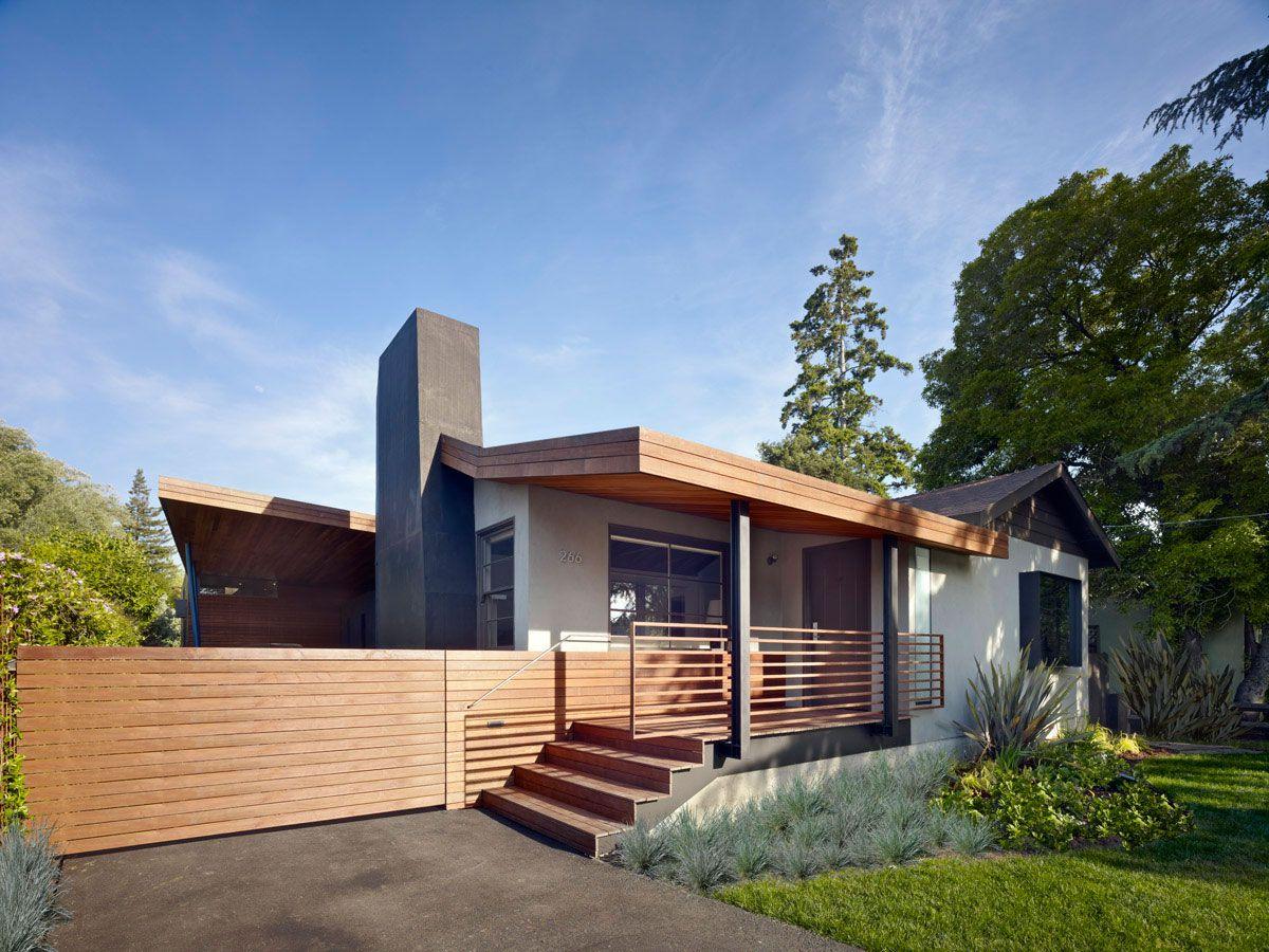 Plano de casa moderna de un piso construye hogar for Casas de cemento