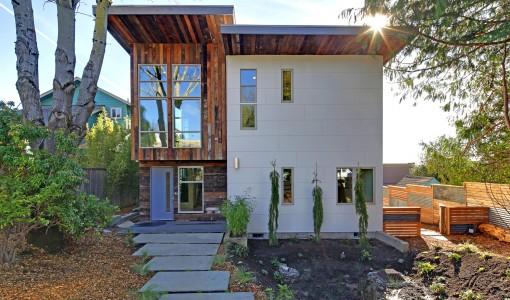 Casas ecol gicas construye hogar - Materiales para fachadas de casas ...