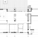 Plano de casa de campo de dos pisos mas sótano