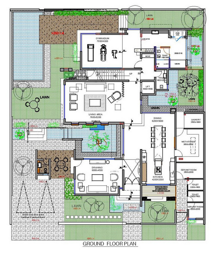 2 Bedroom Beach House Plans