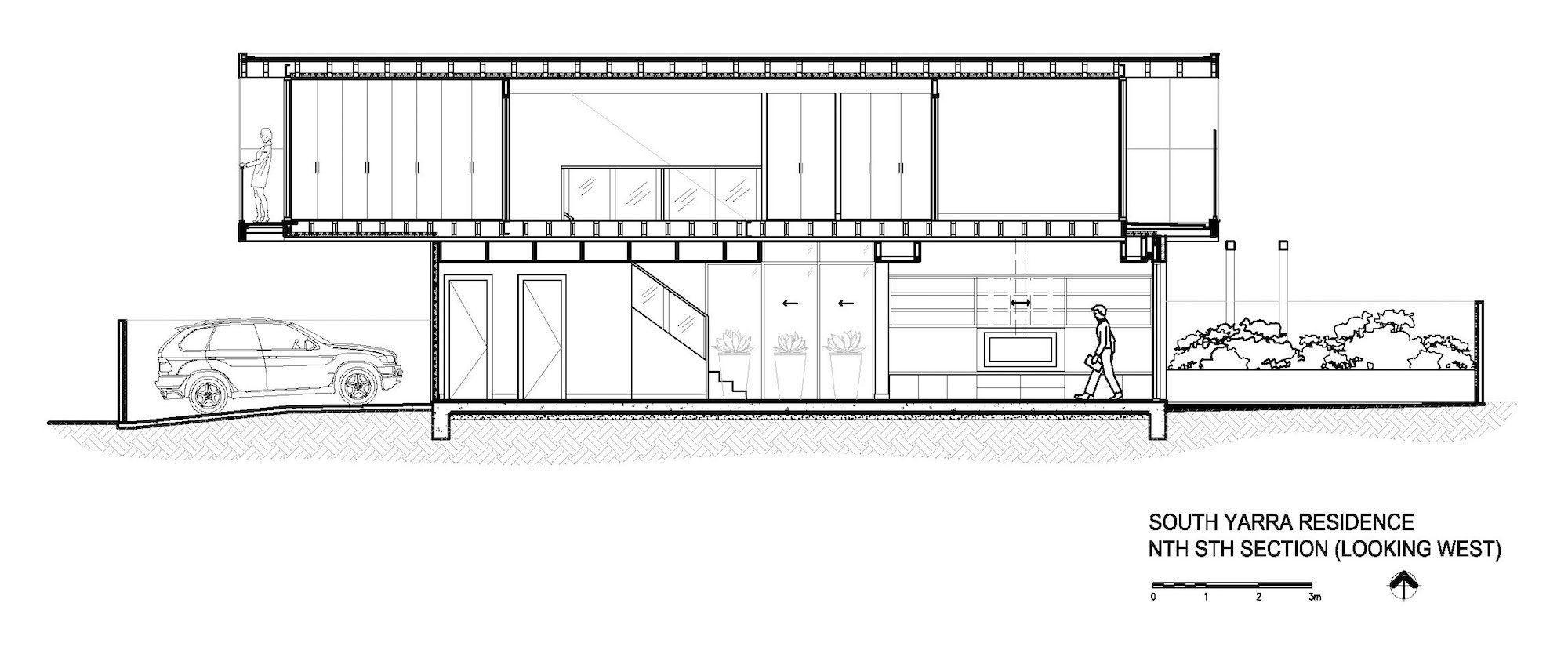 Dise o de casa moderna de dos plantas planos construye for Como hacer una fachada minimalista