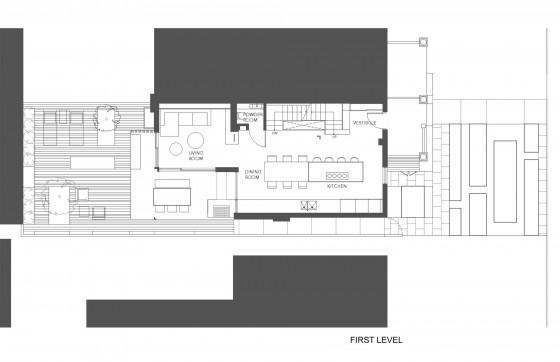 Planos de casa de dos pisos pequeña 001