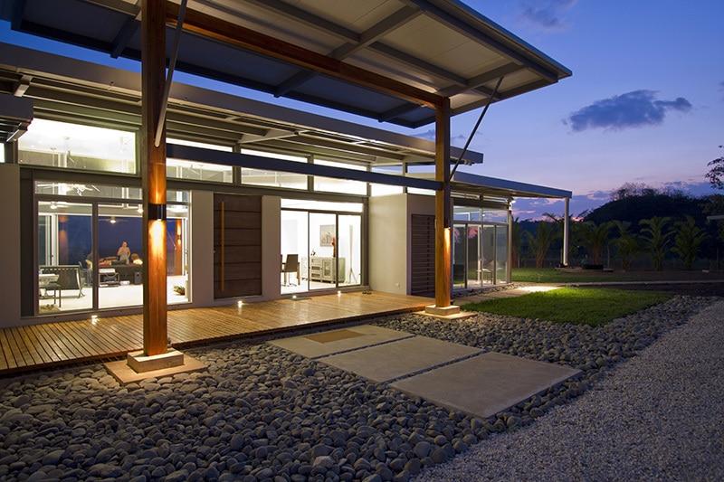 Planos de casa de un piso de campo Pisos para exteriores de casas modernas