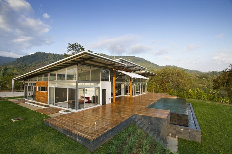 Planos de casa de un piso de campo construye hogar for Casa moderna en el campo