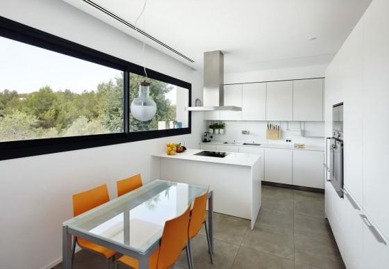 Diseño de cocina comedor pequeño