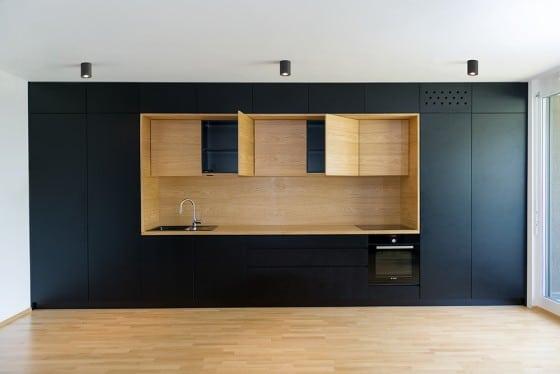 Diseño de cocina para departamento
