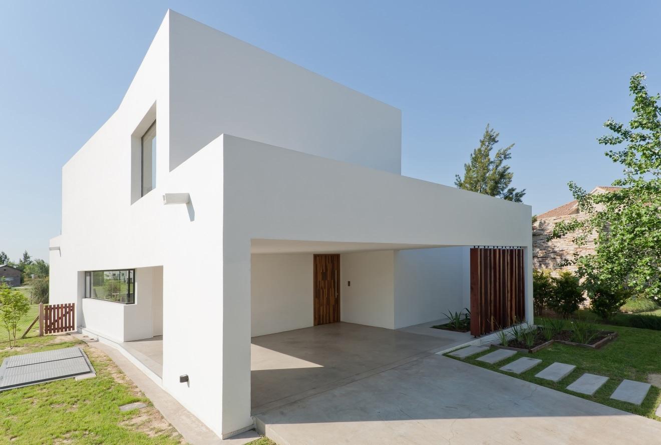 Planos de casa de dos pisos moderna construye hogar for Diseno de casa sencilla