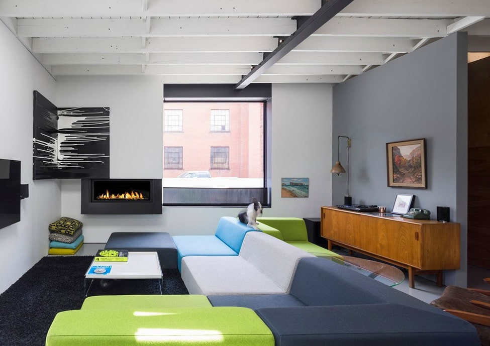 Dise o de departamento de tres dormitorios for Diseno de interiores departamentos modernos