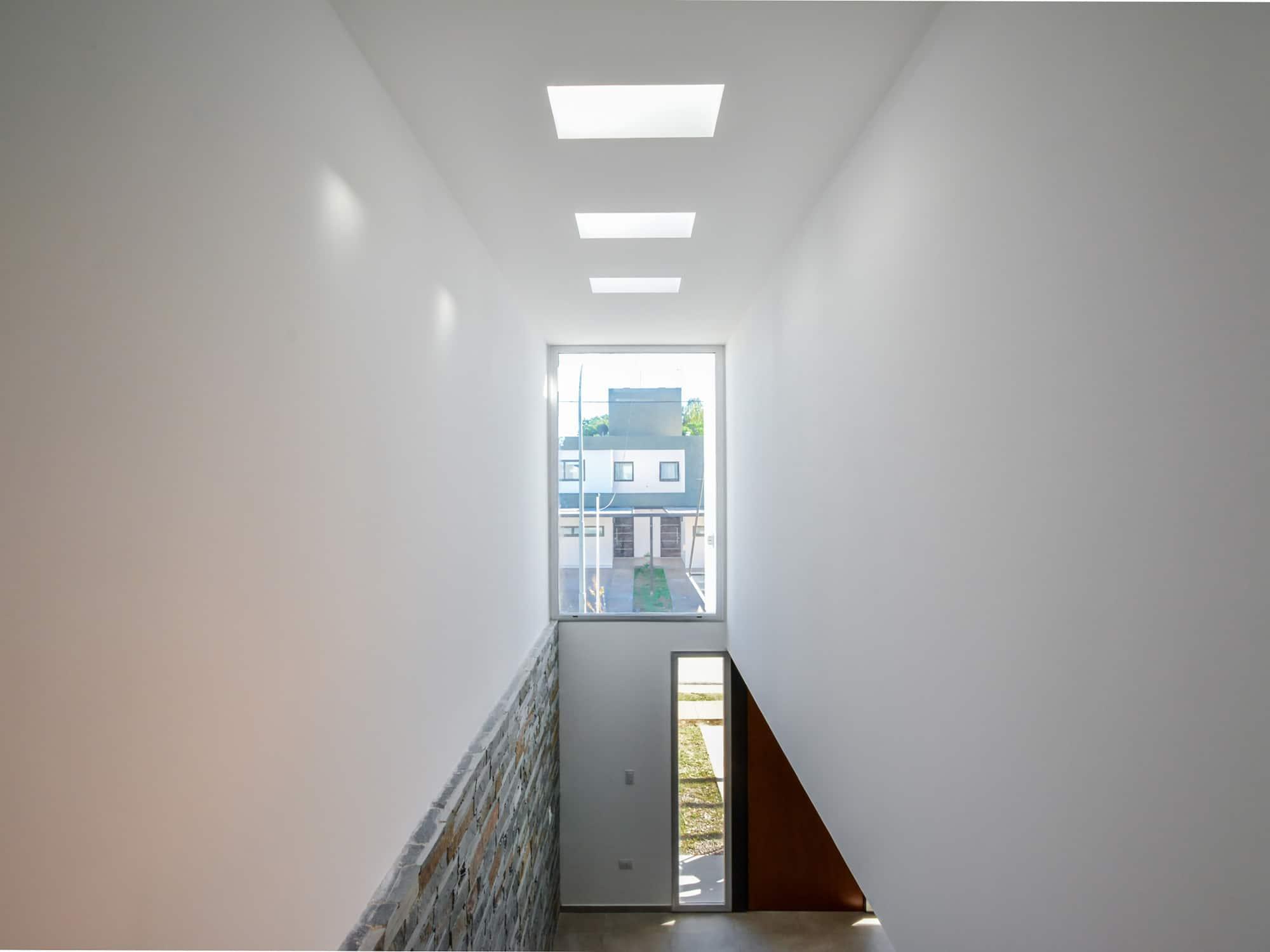 Planos de casa de dos pisos moderna construye hogar - Escaleras de techo ...