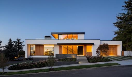 Casa pasiva construye hogar for Fachadas de casas modernas 1 piso