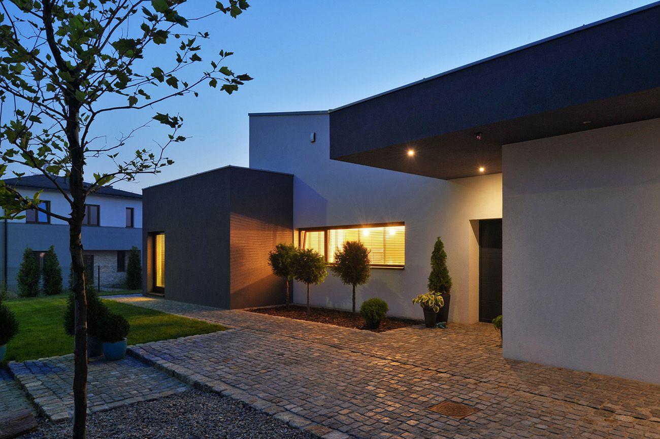 Dise o de casa de una planta con planos construye hogar for Casas modernas de una planta