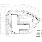 Plano de ubicación de casa de un piso