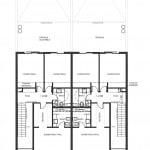 Detalles de casa de dos pisos - segundo piso