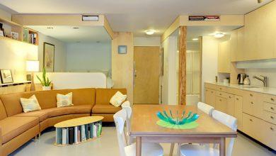 Photo of Diseño de departamento de un dormitorio construido en 33 metros cuadrados, descubre como se consigue un ambiente amplio y luminoso