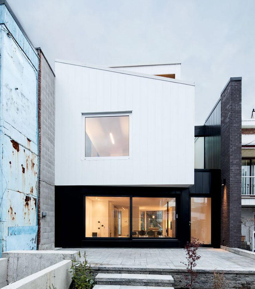 Planos de casa de dos pisos tres dormitorios construye for Diseno de fachadas
